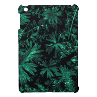 Dark Flora Photo iPad Mini Cover