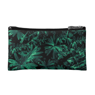 Dark Flora Photo Makeup Bag