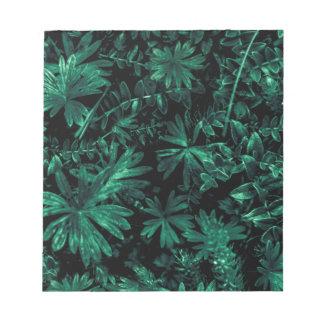 Dark Flora Photo Notepad