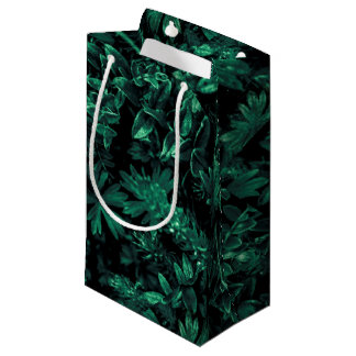 Dark Flora Photo Small Gift Bag