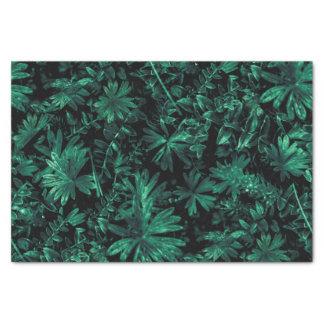 Dark Flora Photo Tissue Paper
