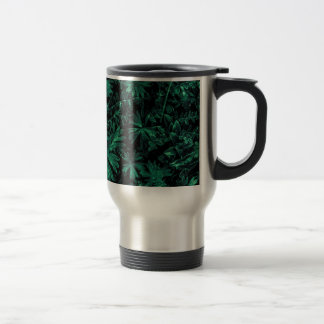 Dark Flora Photo Travel Mug