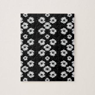 Dark Floral Jigsaw Puzzle