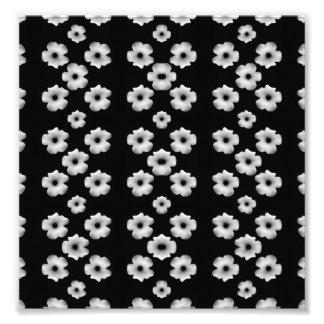Dark Floral Photo Print