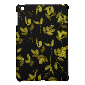 Dark Floral Print Case For The iPad Mini