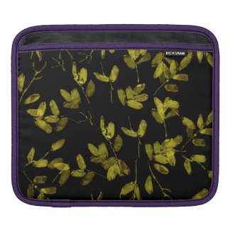 Dark Floral Print iPad Sleeve