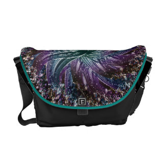 dark flower courier bags