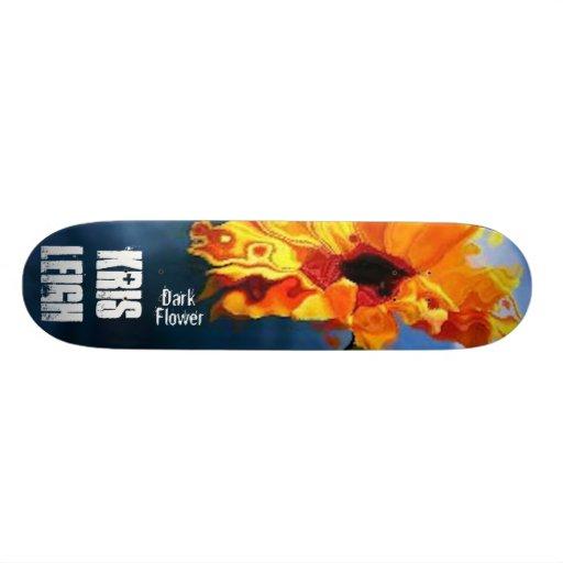Dark Flower Skateboard