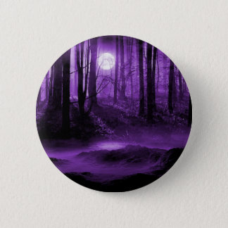 dark forest 6 cm round badge