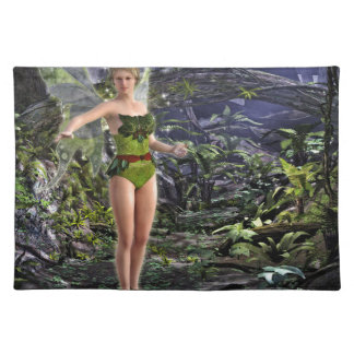 Dark Forest Fairy Placemats