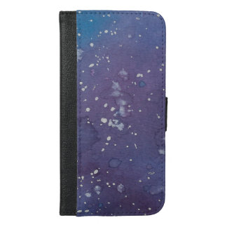 Dark Galaxy Splat Wallet Case