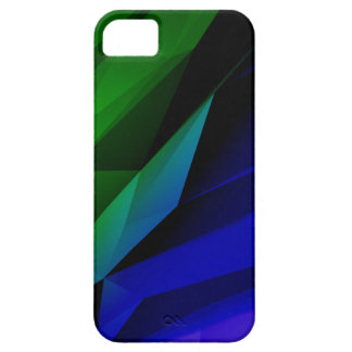 Dark Geometric Shapes iPhone 5 Cover