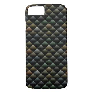 Dark Geometric Texture Apple iPhone 7 Case