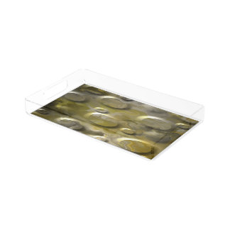 Dark Gold Acrylic Tray