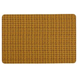 Dark Gold Decor Modern Floor Mat