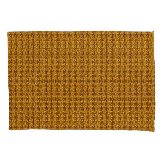 Dark Gold Decorative Modern Pillowcase