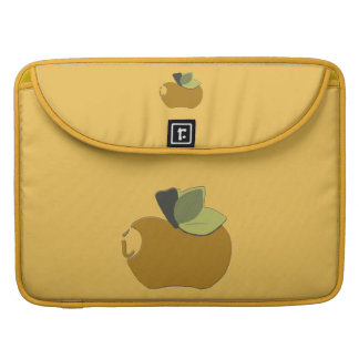 Dark Goldenrod Apple Sleeve For MacBook Pro