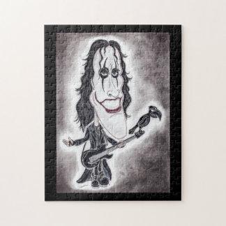 Dark Goth Legend Movie Caricature Drawing Puzzle