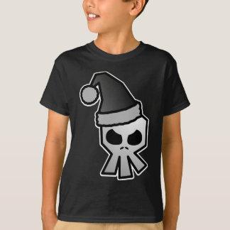Dark Goth Santa Claus Skull Tshirt