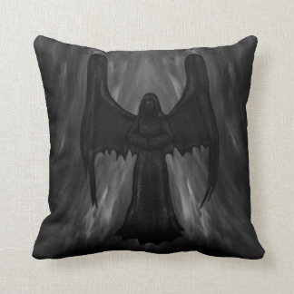 dark gothic angel pilow cushion