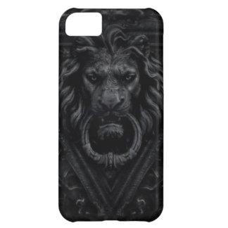 dark gothic lion iPhone 5C case