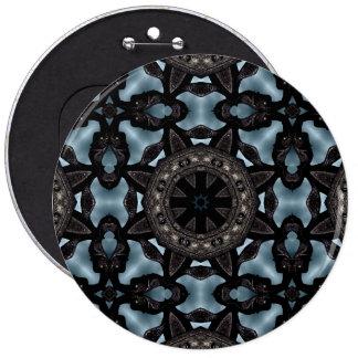 Dark gothic medieval fantasy decoration 6 cm round badge