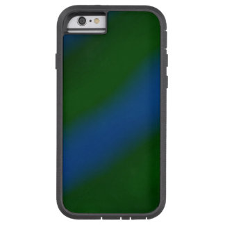 Dark Green and Blue Stripes Pattern Case