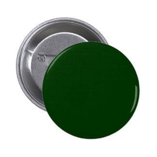 Dark Green 6 Cm Round Badge