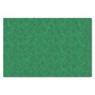 Dark Green Denim Texture Tissue Paper