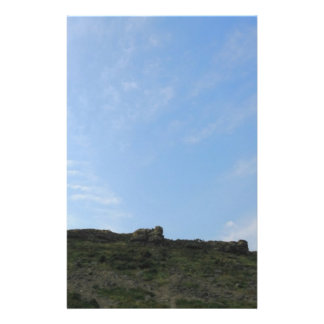 Dark Green Hill Top and Blue Sky Personalized Flyer