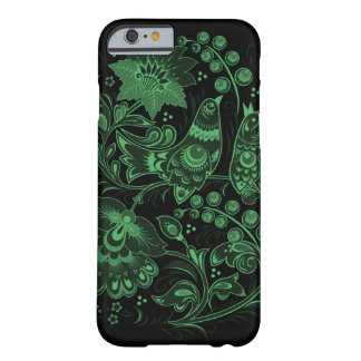 Dark Green Hohloma Barely There iPhone 6 Case