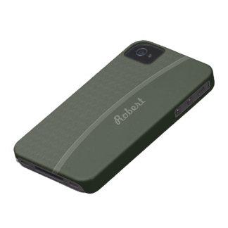 Dark Green Professional design iPhone 4 Covers