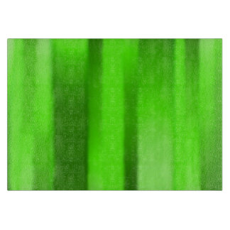 Dark Green Streak MED Glass Cutting Board