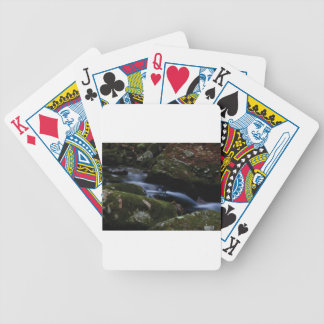dark green stream bicycle playing cards
