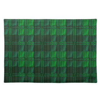 Dark Green Tartan Placemat
