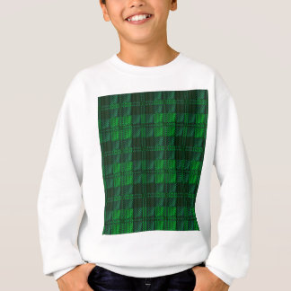 Dark Green Tartan Sweatshirt