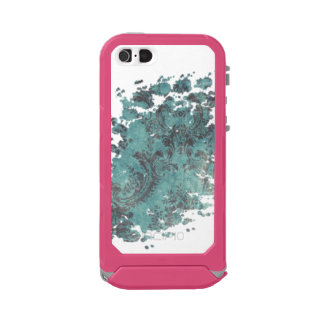 Dark Green Vintage Texture iPhone 5/5s Shine, Gold Incipio ATLAS ID™ iPhone 5 Case