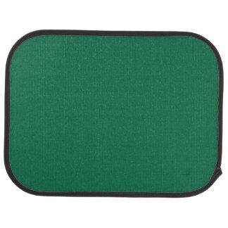 """Dark Green"" Floor Mat"