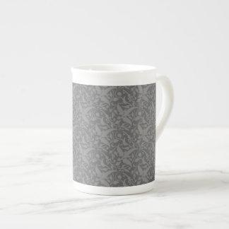 Dark Grey Elegance Tea Mug