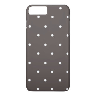 Dark grey iPhone 7 Plus Barely There Case