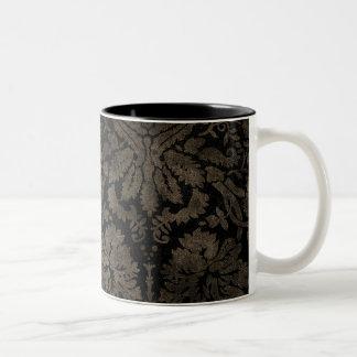 Dark Grunge Damasks Pattern Coffee Mug