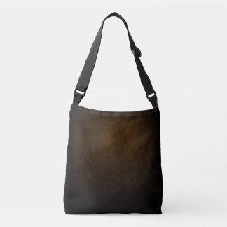 Dark Grunge Textile Crossbody Bag