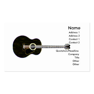 Dark Guitar - Business Double-Sided Standard Business Cards (Pack Of 100)