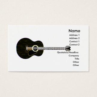 Dark Guitar - Business Business Card