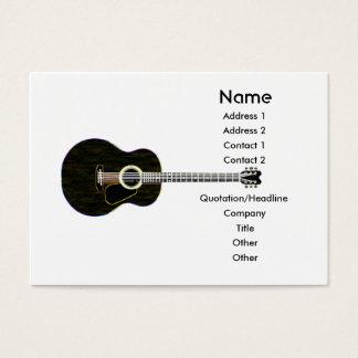 Dark Guitar - Chubby Business Card