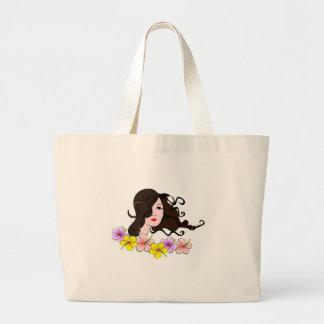 Dark Hair Girl Bags