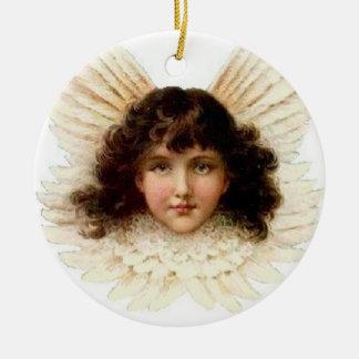 Dark-Haired Angel - Ornament