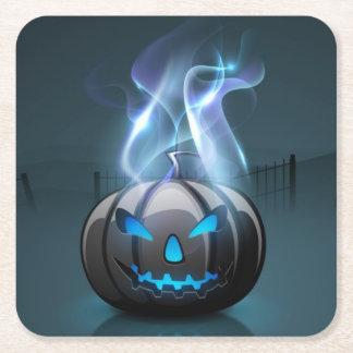 Dark Halloween Paper Coaster Square Paper Coaster