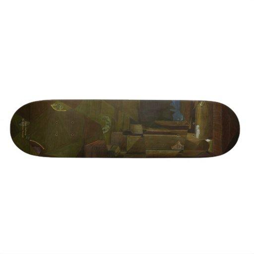 Dark Hallway Skate Board