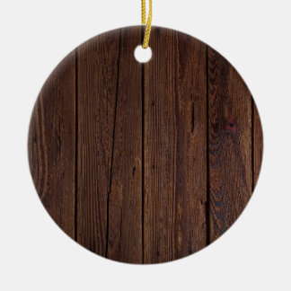 Dark hardwood imitation ceramic ornament